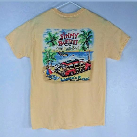 Admirable Jimmy Buffett Graphic Band T Shirt Interior Design Ideas Skatsoteloinfo